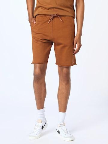 Pantaloni de la SCOTCH & SODA pe maro