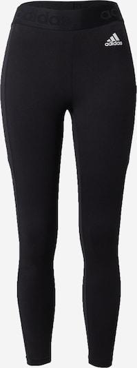 ADIDAS PERFORMANCE Sport-Hose in schwarz / weiß, Produktansicht