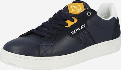 REPLAY Sneaker in blau / gelb, Produktansicht