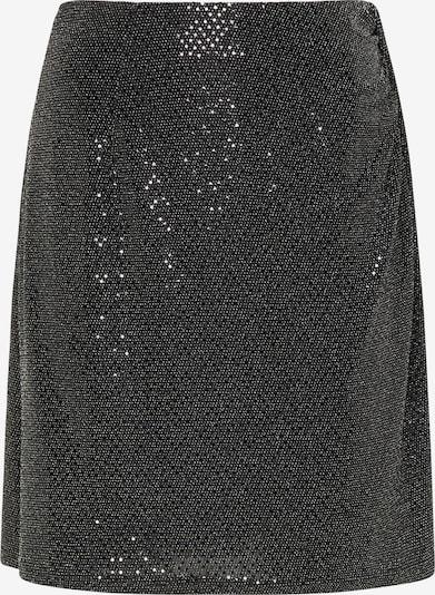 usha BLACK LABEL Jupe en gris argenté / noir, Vue avec produit