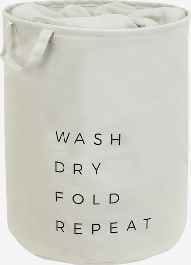 ABOUT YOU Wäschekorb 'Comfy L' in weiß, Produktansicht