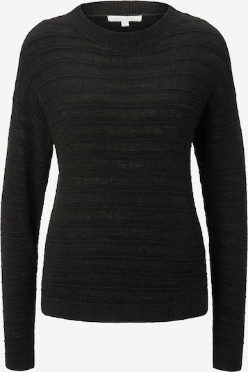 TOM TAILOR DENIM Pullover in schwarz, Produktansicht