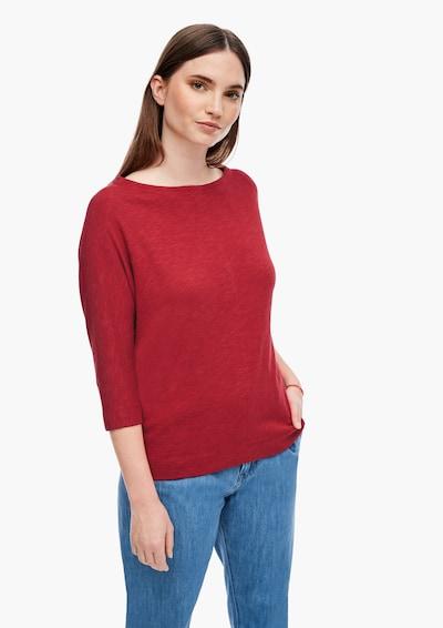 s.Oliver Shirt in de kleur Rood: Vooraanzicht