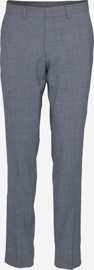 s.Oliver BLACK LABEL Suorat housut värissä meleerattu sininen, Tuotenäkymä