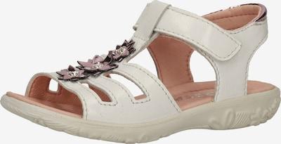RICOSTA Sandale 'Cleo' in dunkelpink / silber / weiß, Produktansicht