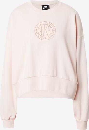 Nike Sportswear Sweat-shirt en rose / rose, Vue avec produit