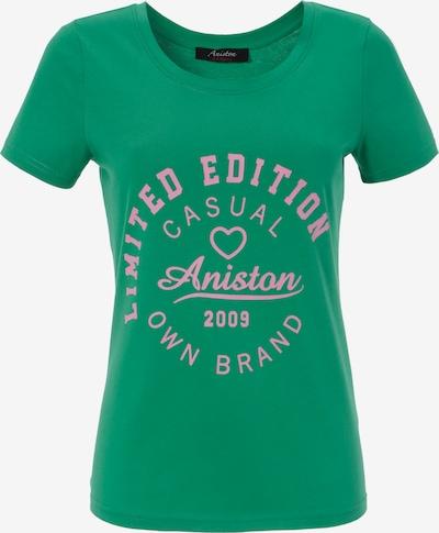 Aniston CASUAL Shirt in grün / pink, Produktansicht
