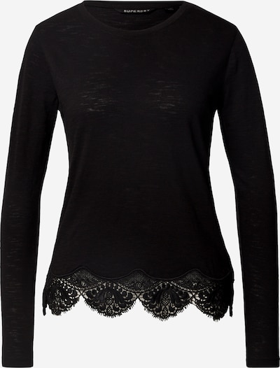Superdry T-shirt 'Morocco' en noir, Vue avec produit