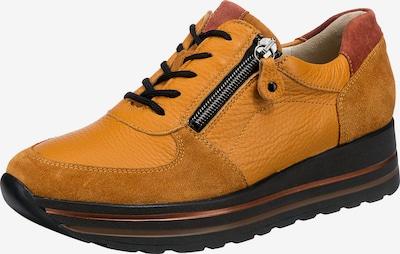 WALDLÄUFER Sneakers ' H-lana' in cognac / orange / pastellrot, Produktansicht