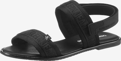 Calvin Klein Sandale in schwarz, Produktansicht