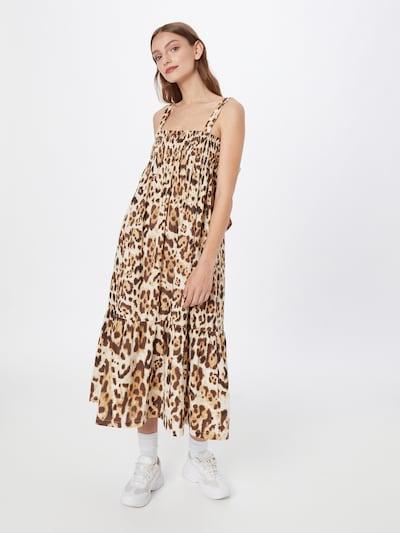 River Island Kleid in hellbeige / braun, Modelansicht