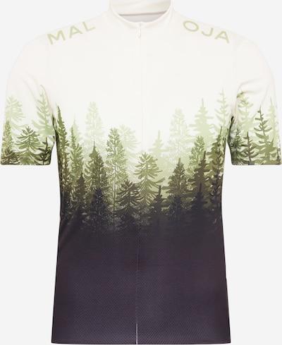 Maloja Camiseta funcional 'Drachenkopf' en oliva / verde oscuro / blanco, Vista del producto