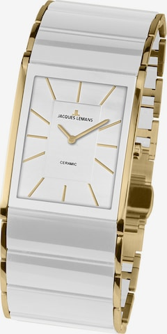 Jacques Lemans Analog Watch in White