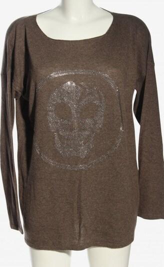THOM BY THOMAS RATH Rundhalspullover in XL in braun, Produktansicht