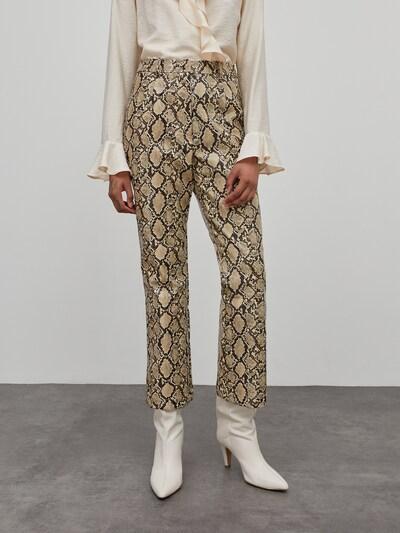 EDITED Pantalon 'Jamal' en marron / noisette / mélange de couleurs, Vue avec modèle