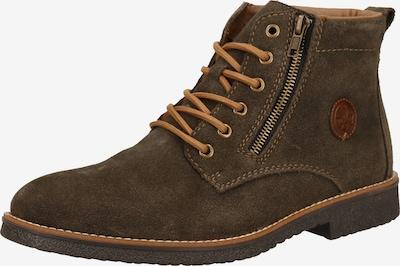 RIEKER Snørestøvler i brun, Produktvisning
