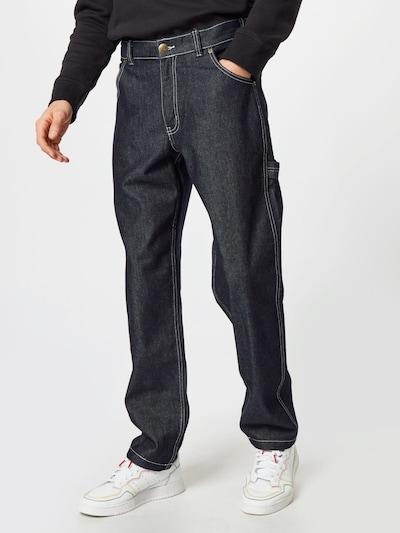 DICKIES Jeans i svart denim, På modell