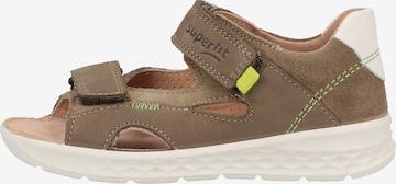Chaussures ouvertes SUPERFIT en marron