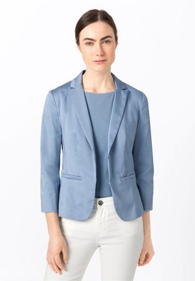 HALLHUBER Basic-Blazer SOFIA mit Bio-Baumwolle in blau / hellblau, Modelansicht