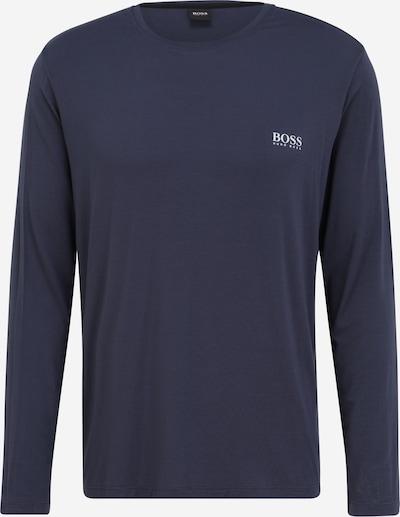 Tricou BOSS Casual pe albastru închis, Vizualizare produs