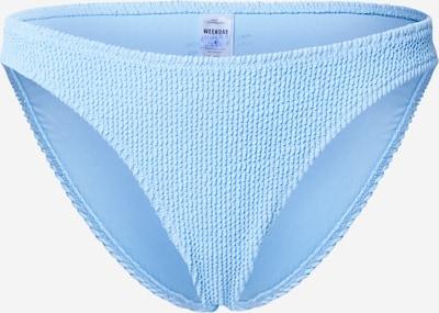 WEEKDAY Braga de bikini 'Sunny' en azul claro, Vista del producto