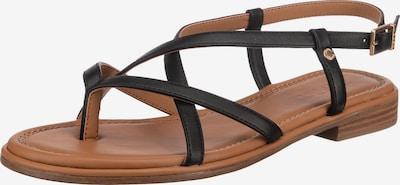 Flip-flops 'Nora' ESPRIT pe negru, Vizualizare produs