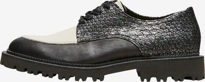 SELECTED FEMME Chaussure à lacets en gris / noir / blanc, Vue avec produit