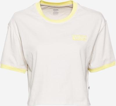 VANS Shirt in gelb / weiß, Produktansicht