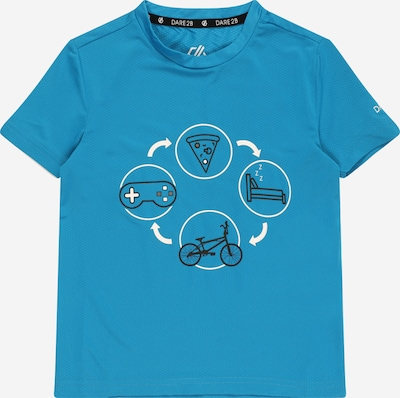 DARE2B T-Shirt 'Rightful' in royalblau / schwarz / weiß, Produktansicht