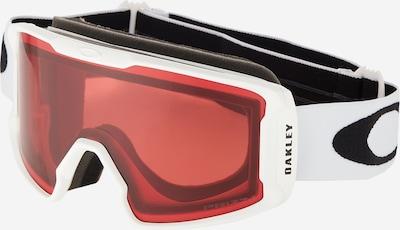 OAKLEY Sportbril 'Line Miner' in de kleur Rood / Zwart / Wit, Productweergave