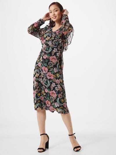 ICHI Kleid in mischfarben, Modelansicht