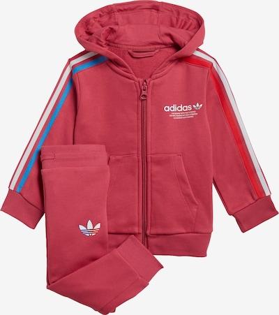 ADIDAS ORIGINALS Jogginganzug 'Adicolor Full-Zip' in blau / rot / weiß, Produktansicht