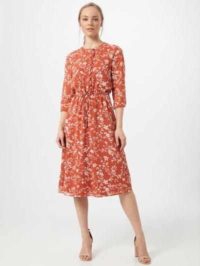 ABOUT YOU Kleid 'Gwen' in rot / weiß, Modelansicht