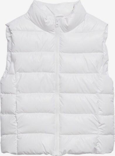 MANGO KIDS Bodywarmer 'shiny' in de kleur Wit, Productweergave