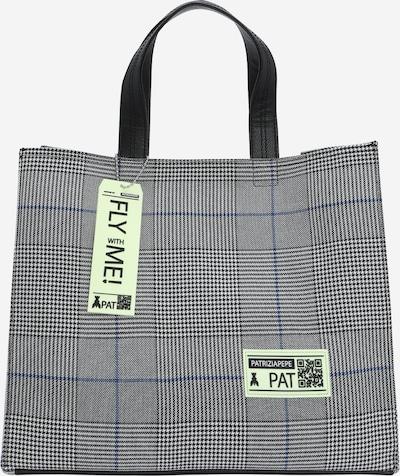PATRIZIA PEPE Shoppingväska i grå / vit, Produktvy