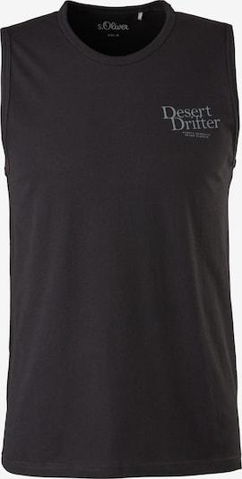 s.Oliver Shirt in de kleur Lichtblauw / Zwart, Productweergave