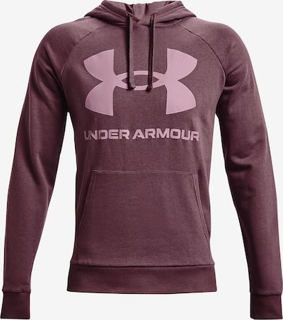 UNDER ARMOUR Sportsweatshirt 'Rival' in pflaume / pink, Produktansicht