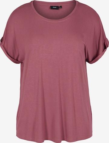 Zizzi - Camiseta 'Eviolet' en rojo