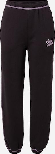 LOCAL HEROES Pantalon 'BOOYAH OFF' en rose / noir, Vue avec produit
