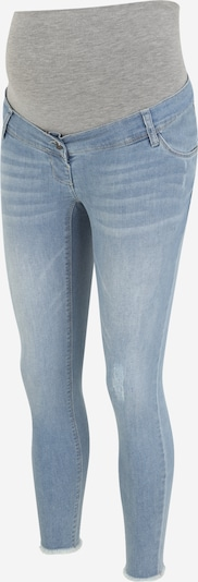 LOVE2WAIT Jeans 'Frayed' in de kleur Blauw denim, Productweergave