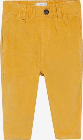 MANGO KIDS Pantalon 'PARKER' en jaune d'or, Vue avec produit