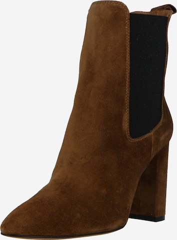 Toral Ankle Boots in Brown