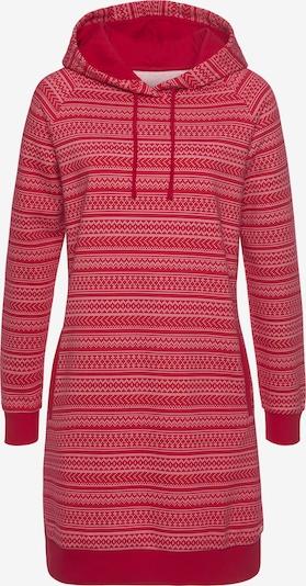 s.Oliver Sweatkleid in rot / weiß, Produktansicht