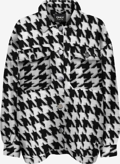 ONLY Jacke  'ANDREA' in schwarz / weiß, Produktansicht