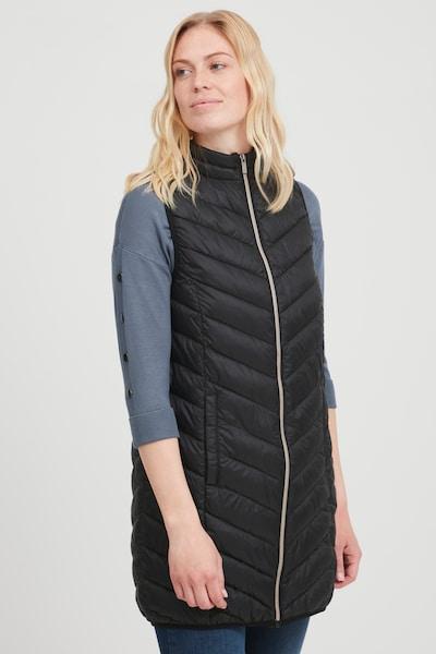 Fransa Weste 'FRBAPADDING 4' in schwarz, Modelansicht