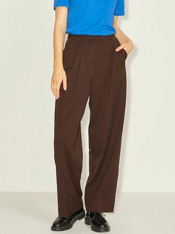 JJXX Plissert bukse 'Bernie' i brun