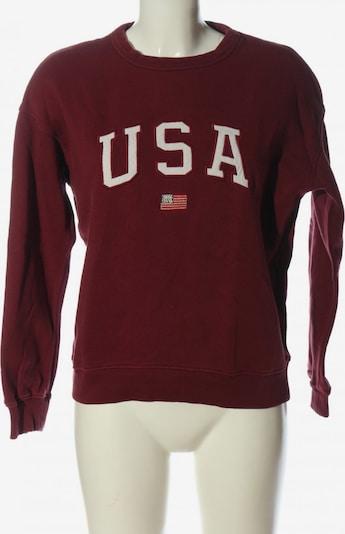 America Today Sweatshirt in S in rot, Produktansicht