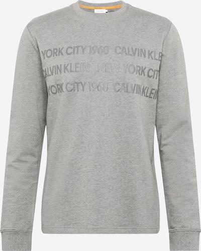 Calvin Klein Bluzka sportowa w kolorze szary / nakrapiany szarym: Widok z przodu