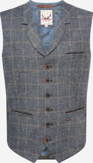 STOCKERPOINT Krojová vesta 'Harold' - béžová / modrosivá, Produkt
