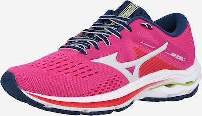 MIZUNO Παπούτσι για τρέξιμο 'WAVE INSPIRE 17' σε σκούρο μπλε / ροζ, Άποψη προϊόντος